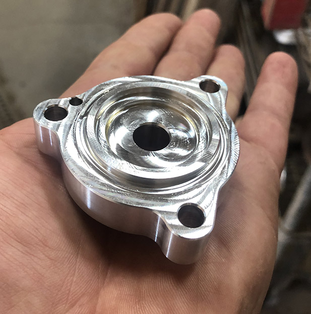 CNC Mill part